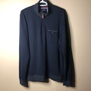 Ted baker London pullover zip up